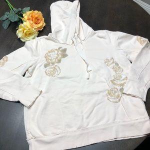 Lucky Brand Cream sweatshirt